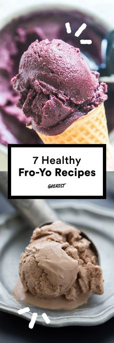 These are so much better than soft-serve. http://greatist.com/eat/frozen-yogurt-recipes-with-5-ingredients-or-less