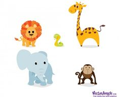 FREE VECTOR ANIMALS   VectorJungle - Free Vector Art, Vector Graphics and Backgrounds