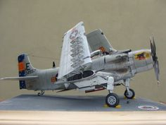 1/32 Zoukei-Mura A-1H Skyraider by Tuan Tonthat