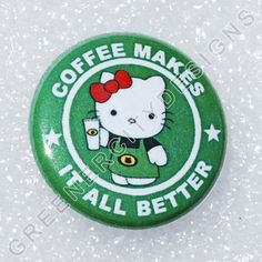 Coffee and Hello Kitty... 2 of my favorite things