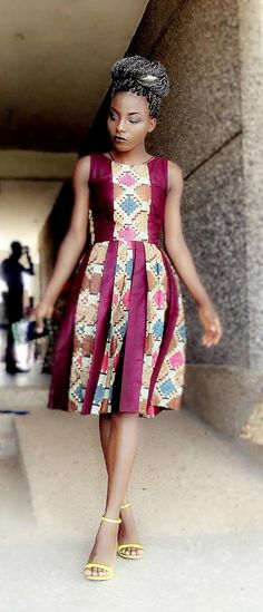 Barbara Nekis ~ African fashion, Ankara, kitenge, Kente, African prints, Braids, Asoebi, Gele, Nigerian wedding, Ghanaian fashion, African wedding ~DKK