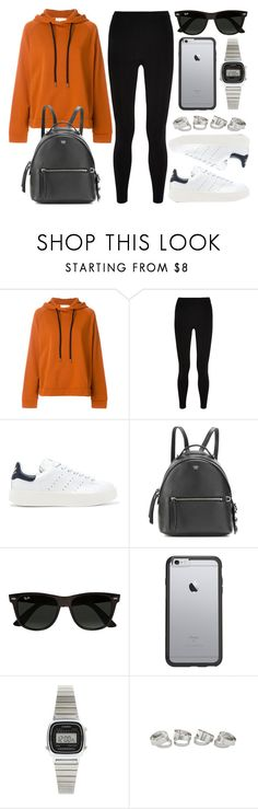 """""""Sin título #14234"""" by vany-alvarado ❤ liked on Polyvore featuring 8PM, T By Alexander Wang, adidas Originals, Fendi, Ray-Ban, OtterBox and Casio"""
