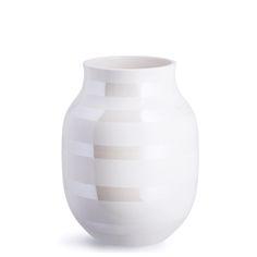 Kähler Omaggio Vase Pearl 20 cm