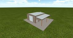 Cool 3D #marketing http://ift.tt/2e7VqAC #barn #workshop #greenhouse #garage #roofing #DIY