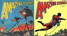 Enter a Huge Archive of Amazing Stories, the World's First #ScienceFiction Magazine, Launched in 1926