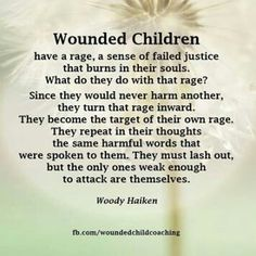 Wounded children. .... abuse survivors