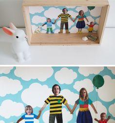 Un portrait de famille original en collage Preschool Art Projects, Projects For Kids, Diy For Kids, Project Ideas, Activities For Kids, Crafts For Kids, Craft Ideas, Collage, Groupes