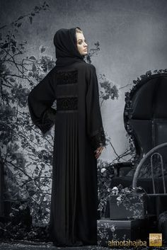 Abaya by Almotahajiba. Winter Collection 2013-2014.