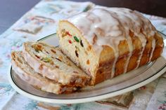 Yesterfood : Rich Holiday Fruit Bread