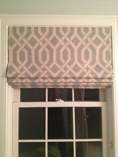 Items similar to Custom Roman Shades on Etsy Window Coverings, Window Treatments, Curtain Styles, Curtain Ideas, Custom Roman Shades, Fabric Blinds, Shades Blinds, Fabric Samples, Decor Interior Design