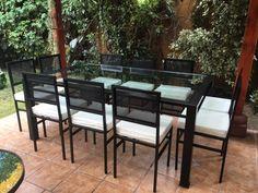 29 best Comedores de terraza fierro 6 sillas images on Pinterest ...
