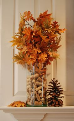 Infuse gorgeous fall colors in your decor with Autumn centerpieces. Here are the best Fall centerpieces DIY Ideas using Pumpkin, Wheat shaft, Pinecones etc. Thanksgiving Mantle, Thanksgiving Decorations, Seasonal Decor, Autumn Mantel, Fall Candle Centerpieces, Fall Candles, Easter Centerpiece, Easter Decor, Wedding Centerpieces