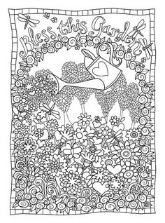 Cute Coloring Pages Free Adult Colouring Books Color Sheets Nature Scenes Art Therapy Doodle Zentangles Vintage