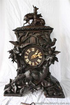 Vintage Black Forest Cuckoo Clock | Details about Antique Beha Black Forest Cuckoo Clock Model nr. 538