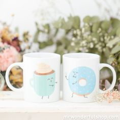 """You Can  Stop Looking Now! Here are 10 Perfect Valentine's Gifts for Her - Mr. Wonderful s a new Portuguese brand with lovely pieces that are taking Europe by storm. From notebooks to mugs or even travel accessories, every piece reads any girls mind and world. On the back of these mugs,you can read """"And together they had breakfast happily ever after"""". The prices are as affordable as the pieces are feminine and lovely."""