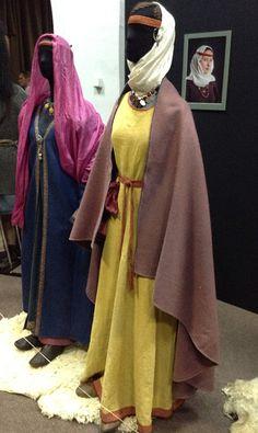 Clothes of wealthy women. Ukraine (Kievan Rus'). The 10th century. Reconstructions