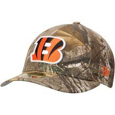 4c24398402d Men s Cincinnati Bengals New Era Realtree Camo Low Profile 59FIFTY Hat