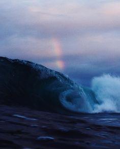 "4,135 Likes, 14 Comments - Ryan Pernofski (@ryanpernofski) on Instagram: ""rainbow, wave, at dark 😍"""
