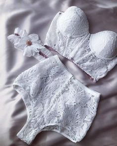 White lingerie from wedding collection by Rara Avis Group. White lingerie from wedding collection by Rara Avis Group. Lingerie Outfits, Pretty Lingerie, Bridal Lingerie, Women Lingerie, Cotton Underwear, Wedding Wear, Wedding White, Lingerie Collection, Nightwear
