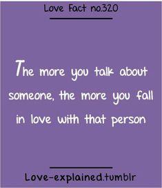 love fact no. 320