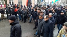 Rally in Kyiv - coming to Rada