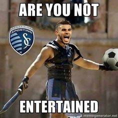 Dom Dwyer be like: THIS IS SPORTING!!! His latest hit: Selfies after scoring a goal! XD