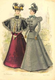 1897; Walking/Visiting dresses