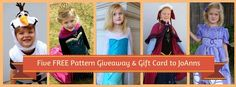 Enter to win Gift Card to Joanns + 5 Patterns from JOY2SEW