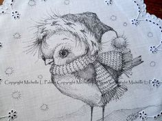 My Pocket, Christmas Clipart, My Childhood, Pencil Drawings, Primitive, Owl, Sketches, Clip Art, Birds