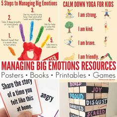 Managing Feelings & Emotions: Best Resources to Use With Kids