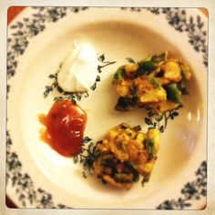 Cauliflower Pakoras from Ottolenghi