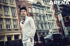 Kwon Sang Woo Look Casual for ARENA Homme Photoshoot [More Image] >> http://kpopselfie.blogspot.com/2015/09/kwon-sang-woo-look-casual-for-arena.html