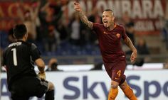 #rumors  Transfer BLOW! Radja Nainggolan ends speculation over future by penning new Roma deal