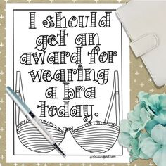 Printable Coloring PageColoring BookAdult by CristinApril on Etsy