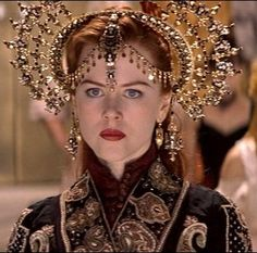 """Nicole Kidman as Satine. Hindi rehearsal costume from """"Moulin Rouge!"""", 2001. Costume design by Catherine Martin and Angus Strathie."""