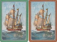 N39-ENN-ENGLISH-NAMED-swap-playing-cards-BARRIBAL-ship-boat-The-Revenge
