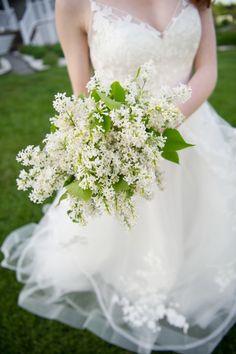 #ad all white wedding bouquet