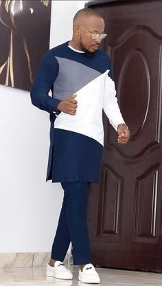 Latest African Wear For Men, Latest African Men Fashion, African Shirts For Men, Nigerian Men Fashion, African Dresses Men, African Attire For Men, African Clothing For Men, Wedding Suits, Guy