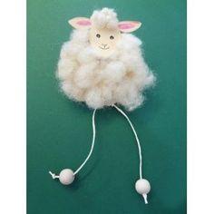 Ein schönes weißes Schaf basteln | Basteln macht Spaß!