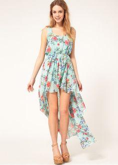 Pretty bohemia floral dress