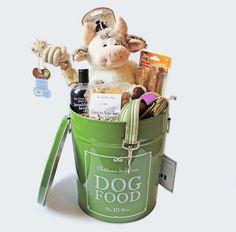 Dog Gift Basket, New Puppy Gift, French Gift Basket, Dog Birthday Gift - Farm Inspired