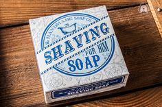 The Handmade Soap Co. - Shaving Soap for HIM