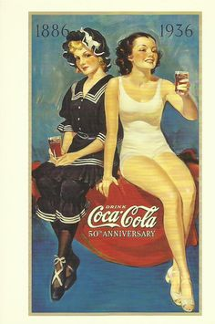 Coca Cola 50th anniversary