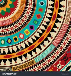 Arte Tribal, Tribal Art, Tribal Pattern Art, Aztec Pattern Wallpaper, Wallpaper Nature Flowers, African Art Paintings, Mandala Drawing, Native Art, Mandala Design
