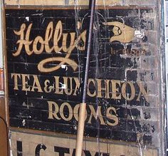 Old signs are definitely (one of) 'my things' - Funky Junk Interiors