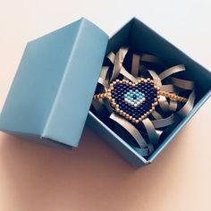 Siparişimiz sahibine ulaşmak için hazır bekliyor... . . . #miyuki #handmade #bileklik #style #fashion #miyukibeads #like4like #nofilter #unique #gift #blue