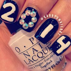 new year by gabbysnailart #nail #nails #nailart