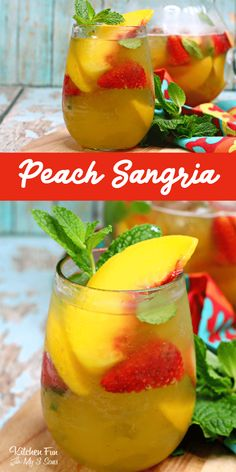 TEXAS PEACH SANGRIA – Absolutely Delicious and the Best Sangria for Summer This Peach Sangria recipe is the best around. With white whine, peach nectar and frozen peaches, this will quickly become your favorite summer drink recipe. Peach Sangria Recipes, Summer Drink Recipes, Alcohol Drink Recipes, Summer Cocktails, Cocktail Drinks, Cocktail Recipes, Peach Vodka, White Peach Sangria, Sangria Ingredients