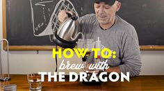 Dragon is a new manual coffee brewer created by Todd Carmichael