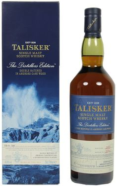 Talisker Distillers Edition 2017 Single Malt Scotch Whisky x l) Dalmore Whisky, Talisker Whisky, Fireball Drinks, Alcoholic Drinks, Whiskey Cocktails, Scotch Whisky, Cigars And Whiskey, Whiskey Bottle, Wine